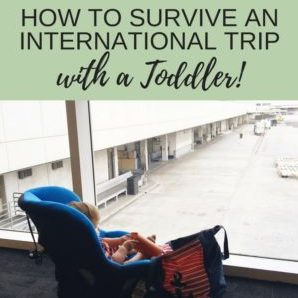How to Survive International Travel with a Toddler