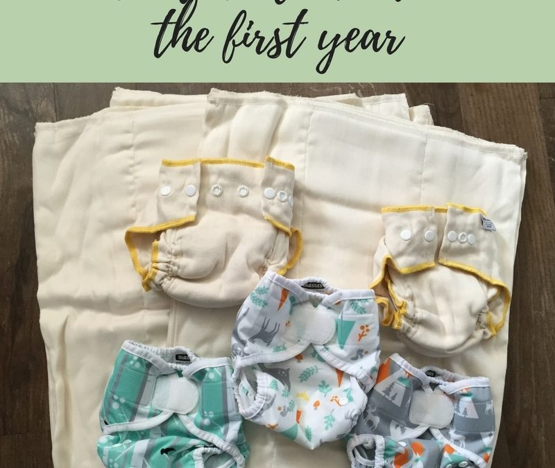 Cloth Diapering for Beginners: What I learned in our first year