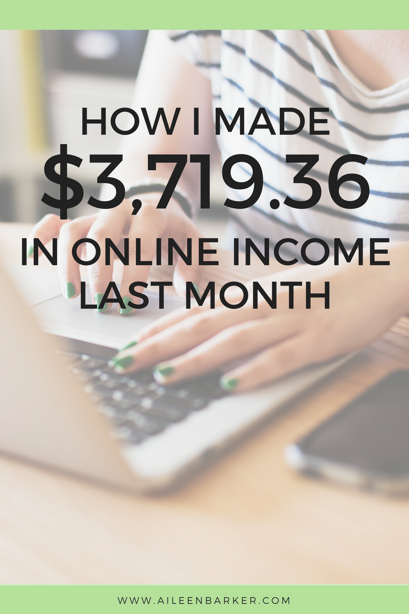 March 2017 Online Income Report