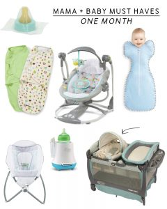 Mama + Baby Must Haves | Month One