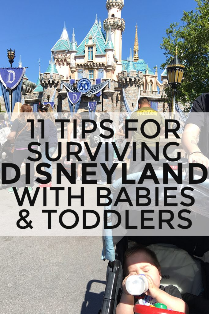 Tips for surviving Disneyland with a baby or toddler