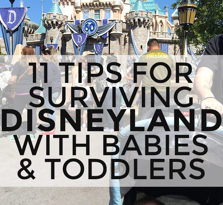11 Tips for Surviving Disneyland with a Baby or Toddler